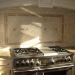 backsplash travertine