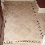 Bathroom Floor border