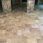 Travertine Pattern Floor