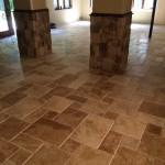 Tumbled Marble floor