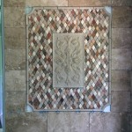 Bathroom Tile framed design