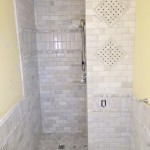 White Marble Bathroom Shower